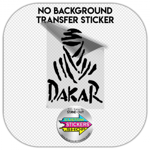Dakar logo Sticker #1