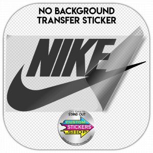 Nike logo sticker #1