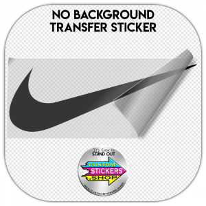 Nike logo sticker #2