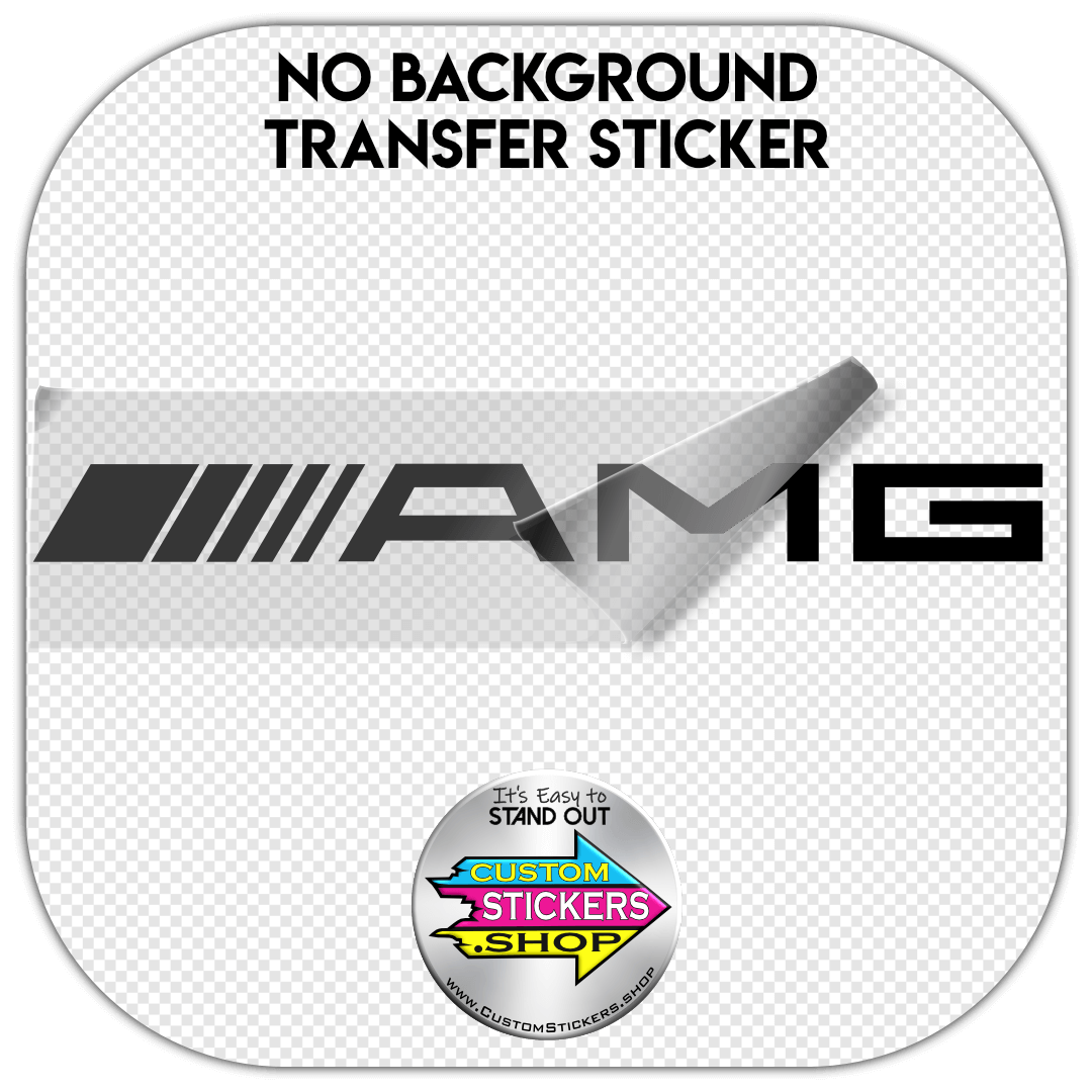 mercedes benz, amg, rwd, sticker, decal
