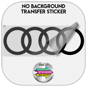 Audi Rings sticker #1