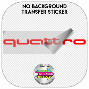 Audi Quattro sticker #1