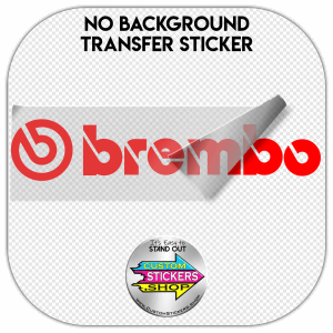Brembo Logo Sticker #1