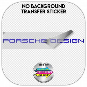 Porsche Design Sticker #1