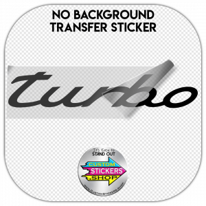 Porsche Turbo Sticker #1
