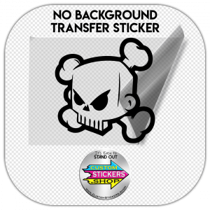 Ken Block Skull sticker #1