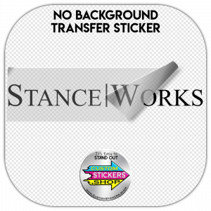 Stance Works Sticker #1