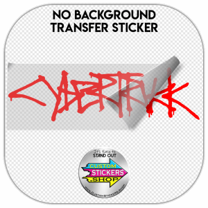 Tesla CyberTruck sticker #1
