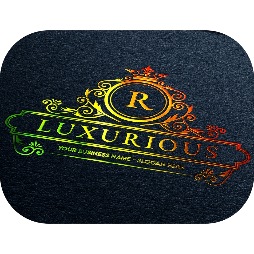 holographic, oil, slick, custom, text, name, your, logo, business, stickers, personalized, decal, sticker