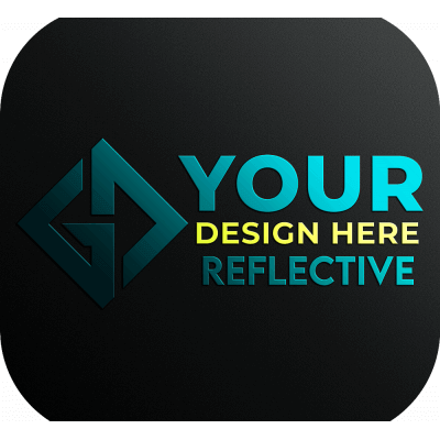 Your Design Logo - Reflective Stickers